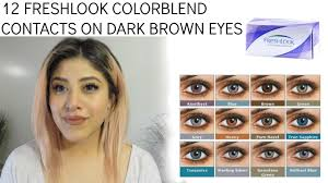 Prescription Halloween Contacts by 100 Colored Eye Contacts Non Prescription Student Rips Her