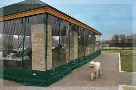Roll Up Patio Shades by Custom Patio Enclosures For Commercial Use Enclosureguy