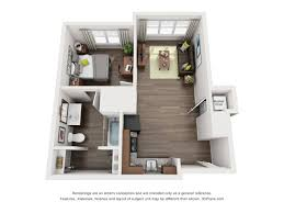 100 Small One Bedroom Apartments Gorgeous 1 Plans Cool Loft