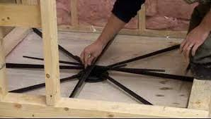 the dix systems tile shower base pan is designed to be installed