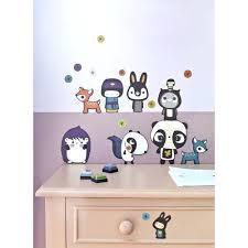 stickers pour chambre d enfant stickers pour chambre d enfant motif mode amovible animaux