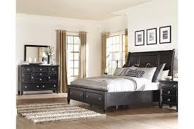greensburg 5 piece queen master bedroom w storage ashley
