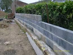 mur de separation exterieur mur de clôture construction de notre maison