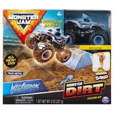 100 Build A Truck Game Spin Master Monster Jam Monster Jam Megalodon Monster