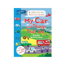 100 Cars And Trucks And Things That Go My Car And Sticker Activity Book Author ISBN