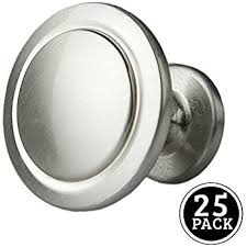 Cheap Cabinet Knobs Under 1 by Amerock Bp53005g10 Allison Value 1 1 4in 32mm Dia Knob Satin