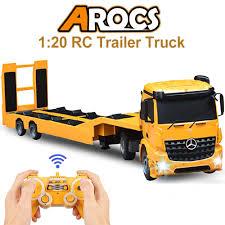 100 Remote Control Semi Truck With Trailer Amazoncom DOUBLE E RC Tow Licensed MercedesBenz Acros