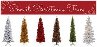 Decorating With Pencil Christmas Trees