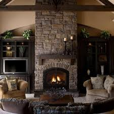 Art Deco Fireplace At Home Living Room Colin Timberlake