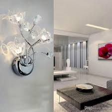 impressive lights for living room walls lighting up an entire wall