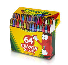 Crayola Bathtub Crayons 18 Vibrant Colors by Crayola Crayons 64 Pack With Built In Sharpener Toys
