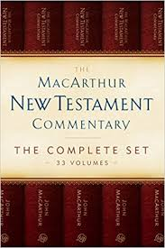 The MacArthur New Testament Commentary Set Of 33 Volumes Series Box Edition Kindle