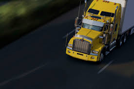 100 Yellow Trucking Jobs Speed Yellow Semitruck On Highway