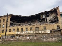 Hammond Castle Halloween by Fisher Building Demolition Underway News Ncnewsonline Com