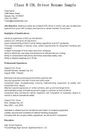 Resume Examples For Driving Jobs Also Car Driver Sample Us Bunch Ideas Of Simple Example