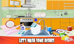 House Dish Washing Kitchen Clean Up Cleaning Sim Screenshot Thumbnail