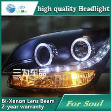 car styling l for kia soul 2009 headlights led