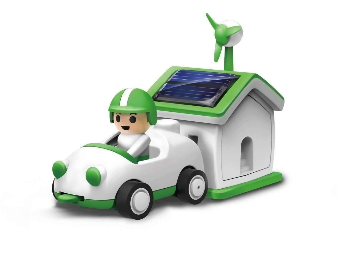 Owi Green Life Plug in House and Car