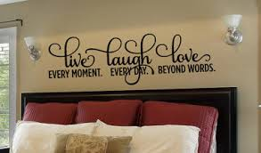 Live Laugh Love Wall Decal Quotes For Bedroom