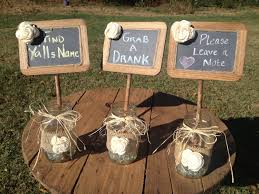 Table Decorations Wedding Stuff Modern Concept Rustic With Diy