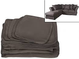 housse de coussin pour canapé pour canapé d angle modulable pouf tissu victoire ii 6 coloris