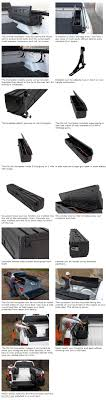 100 Truck Bed Gun Storage AllInOne Side Mount Tool Box Wheel Well And