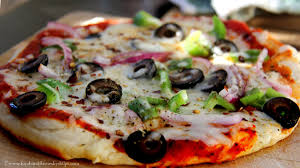 No Yeast Without Oven Pan Pizaa Recipe From Strach