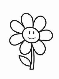 Coloring Pages Printable Simple Art Free Games For Toddlers Childern Special Paper Black And White
