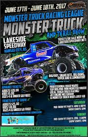 Lakeside Speedway - Monster Trucks Invade Lakeside Speedway For June ...
