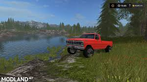 100 Ford Truck Games F100 Chrome Mod Farming Simulator 17