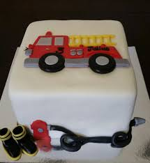 100 Truck Wedding Cake Fire Truck Birthday Cake S By Molly Facebook