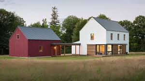 Prefab Homes From Go Logic Offer 'rural Modernism' Assembled In 2 ... House Plan Modular Barn Kits Frame Prefab Homes American Steel Buildings For Sale Ameribuilt Modern Pole Barn Barns Kits Sale Prefabricated Kit 5 Advantages Of Using Prefabricated Feed Storage Barns Garage With Loft Remioncom Porch Surprising Prefab Porch Design Ideas Horse Stalls Horizon Structures Garages Byler Utility Sheds Md Wv Va Morton Pole Metal Building A Home Maine Dealers Floor Plans Builders For Provides Superior Resistance To