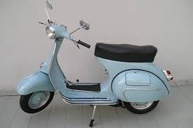 Vintage Vespa Blue Images Free Download
