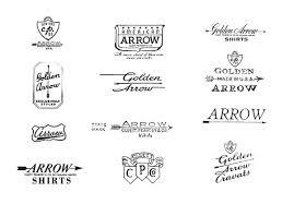 Arrow Vintage 2 On The Behance Network Type Logo