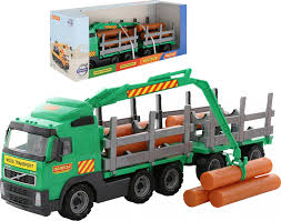 Timber Truck With Trailer
