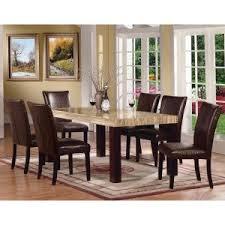 Acme Furniture Fraser 7 Piece Rectangular Dining Table Set