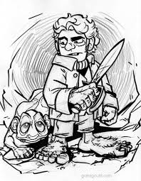 9 Images Of LEGO Hobbit Coloring Pages