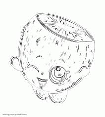 Pee Wee Kiwi Coloring Pages