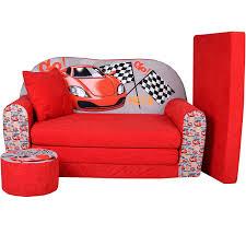 canapé convertible enfant lit enfant fauteuils canapé sofa pouf et coussin racing w319 02
