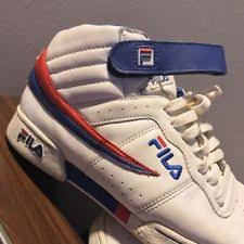 FILA Shoes Size 85 High Top Basketball Leather Vintage Nike Sneakers