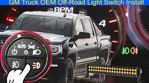 GM Truck OEM Off-Road Light Switch Install - YouTube New 2018 Roush F150 Grill Light Kit Offroad Ford Truck 18 Amazoncom Led Bar Ledkingdomus 4x 27w 4 Pod Flood Rock Lights Off Road For Trucks Opt7 Hid Lighting Cars Motorcycles 18watt Vehicle Work Torchstar Buggies Winches Bars 2013 Sema Week Ep 3 Youtube Shop Blue Hat Remotecontrolled Safari With Solicht Free Shipping 55 Inch 45w Driving Offroad Lights Spot Flood 60w Cree Spot Lamp Combo 12v 24v Amber Kits 6 Pods Boat 4x4 Osram Quad Row 22 20 Inch 1664w Road