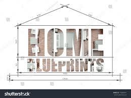 100 Modern Houses Blueprints Royalty Free Stock Illustration Of Home Slogan House