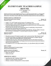 Resume Template For Teacher Elementary Sample Curriculum Vitae Format Teachers Pdf