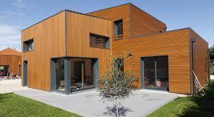 maison en cube moderne architecte maison bois lyon architecte maison à ossature bois