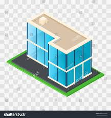 100 Modern Rustic Architecture Isometric Chic Cottage Glass Stock Vector
