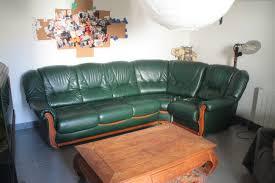 donne canapé d angle don canapé d angle vert occasion annonce à quincieux 69 wb156152348