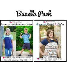 Discoverer Tee Pattern Bundle Pack Ellie And Mac Digital PDF