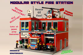 LEGO IDEAS - Product Ideas - Modular Style Fire Station Custombricksde Lego Custom Moc City Model Us Fire Truck Sbfd Engine 33 The Pride Of Down Town Moc Lego Fdny Model Fire Trucks Home Facebook Hpfr 6 Youtube Ideas Product Ideas Realistic Brickyard Apparatus Mvp Rescue Pumper Archives Ferra Intertional Pierce Engines Tankers Imgur Heavy Squad Custom Stickers Itructions To Build A Man Tgm Vehicle 7239 Decotoys