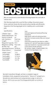 Bostitch Flooring Stapler Base Plate by Woodcrete Pty Ltd Home Facebook