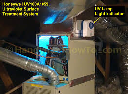 how to install a honeywell ultraviolet light treatment system